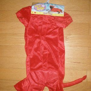 "New Devil Doggie Halloween Costume Large 20""-22"""